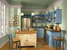 Sage Green Kitchen Ideas - two toned kitchen cabinets painting your kitchen cabinets