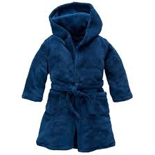 robe de chambre garcon robe de chambre à capuche 2 12 ans bleu marine la redoute