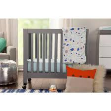 Babyletto Hudson Convertible Crib Charming Rug As As Wooden For Nursery Decoration Ideas
