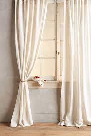 Ivory Linen Curtains Linen Tie Top Curtain Linens Living Rooms And Bedrooms