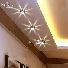 background light mini small led ceiling light for art gallery