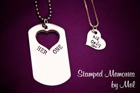 his and hers dog tags one his only dog tag set idealpin