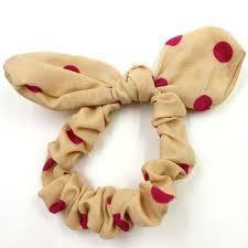 hair scrunchies fancy rabbit ear scrunchies decorative hair scrunchies hair