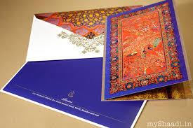 unique indian wedding cards unique wedding card ideas myshaadi in india wedding cards