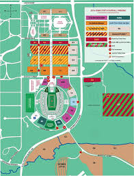 Ball State Parking Map iowa state athletics