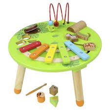 wooden activity table for buy tesco wooden musical activity table from our preschool activity