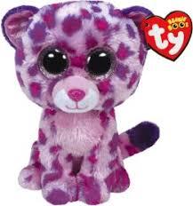 ty beanie boos type leopard wild cat glamour birthday