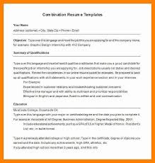 7 sample combined resume sap appeal