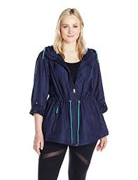 plus size light jacket details women s plus size printed lightweight anorak parka in a