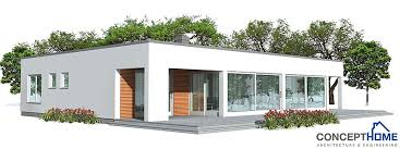 contemporary home plan ch140 house plans and images