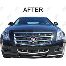 2010 cadillac cts grill amazon com 2008 2011 cadillac cts chrome grille overlay automotive