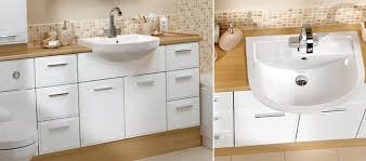 Fitted Bathroom Furniture White Gloss Fitted Bathroom Furniture White Gloss With Regard To Property