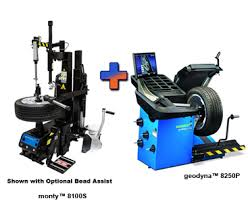 Motorcycle Tire Machine And Balancer Combo Special Ranger R76lt Tilt Back Tire Changer And Ranger Dst
