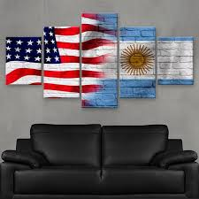hd printed limited edition american argentine argentina flag