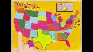 Usa Map With Capitals And States by Learn The States Usa Capital And Geography Fact Learning Ipad