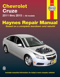 chevrolet cruze 11 15 haynes repair manual haynes manuals