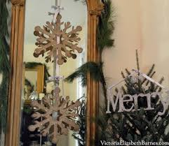 Christmas German Decorations by Victorian Pier Mirror Decorated For Christmas German Glass