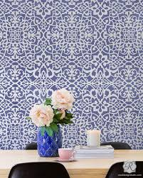 paint stencils for walls moroccan wall stencils palace trellis moroccan stencil royal