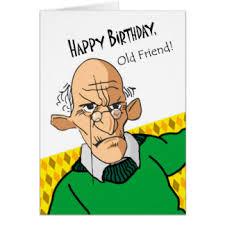 funny old man birthday cards greeting u0026 photo cards zazzle