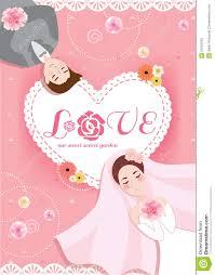 groom to card pastel sweet pink and groom wedding card wi
