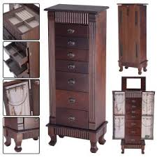 stand up mirror jewelry box and white jewelry armoire runuplabs