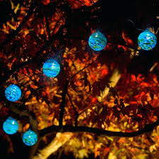 Autumn String Lights by Candle String Lights Autumn Leaf Party String Lights Lit White