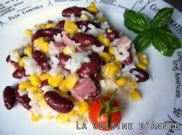 cuisiner haricots rouges recette salade de haricots rouges la cuisine familiale un plat