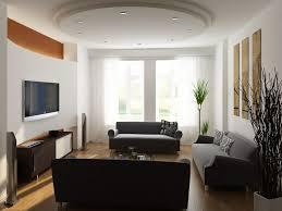 floor lamps corner beside brown sofa elegant living room design
