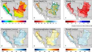 Upper Colorado Water Supply Outlook April 1 2009 Extreme Hydrological Changes In The Southwestern Us Drive
