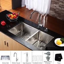 Buy Stainless Steel Kitchen Sink by Stainless Steel Kitchen Sink Combination Kraususa Com