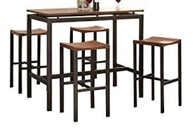 Amazoncom Coaster Home Furnishings  Piece Casual Dining - Casual dining room set