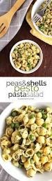 peas and shells pesto pasta salad slim sanity