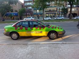 jurassic park car anyone else see this awesome car driving around winnipeg