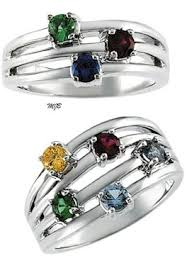 mothers rings 4 stones i really this mothers ring i could put all 4 of our stones on