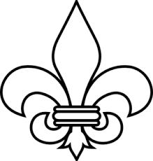 fleur de lis 1 clip at clker com vector clip