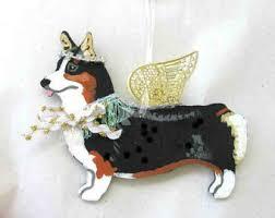 corgi ornament etsy