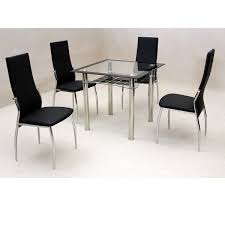 Glass Dining Table Sets Cheap Glass Dining Table And Chair Sets 4468