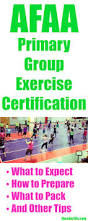 afaa primary group exercise certification tips the chic life