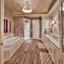 large bathroom designs master bathroom hardwood floors large tub his and sink
