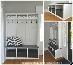 entryway cubbies 20 best entryway bench diy ideas projects picture instructions