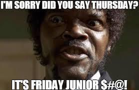 Junior Meme - jj laborde on twitter happy friday junior ya ll fridayjunior