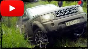 custom land rover lr4 off road land rover discovery 4 off road in the mud youtube