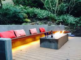 Custom Fire Pit by Feel The Heat Outdoor Fire Pits 101 Greener Living Solutions