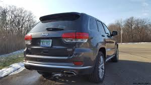 jeep summit 2017 2017 jeep grand cherokee summit road test review by carl malek