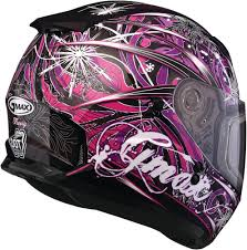 motocross helmet with shield 88 15 gmax youth girls gm49y flurry snow helmet with 228981