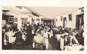 Rush Interiors Caruso U0027s Restaurant U2013 Interior U2013 936 N Rush U2013 Sepia U2013 1940s