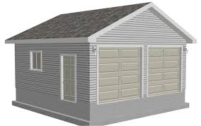 easy to follow garage 20 x 20 x 9 plan free house plan reviews garage