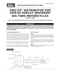 mallory ignition mallory unilite distributor а556 user manual 2