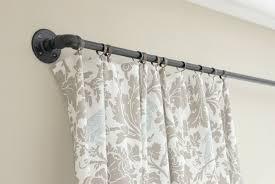 Patio Door Curtain Rod Patio Door Curtain Rods Without Center Bracket Home Design Ideas