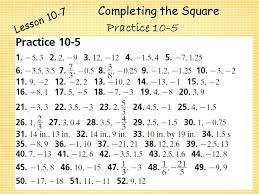 practice 5 5 quadratic equations worksheet answers tessshebaylo